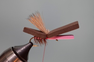 Elk Hair Foam Hopper