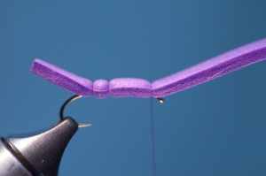 purple foam hopper