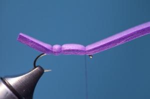 purple foam hopper