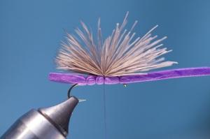 deer hair hopper wing