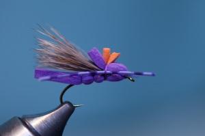 finished gfa purple foam hopper