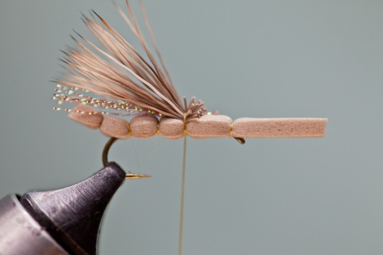 deer hair hopper wing