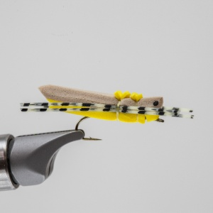 yellow morrish foam hopper