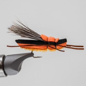 salmon fly foam pattern
