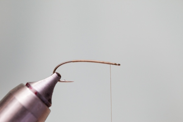 hook for tying flies for fly fishing