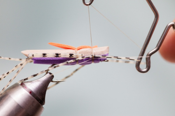 finishing tying morrish hopper