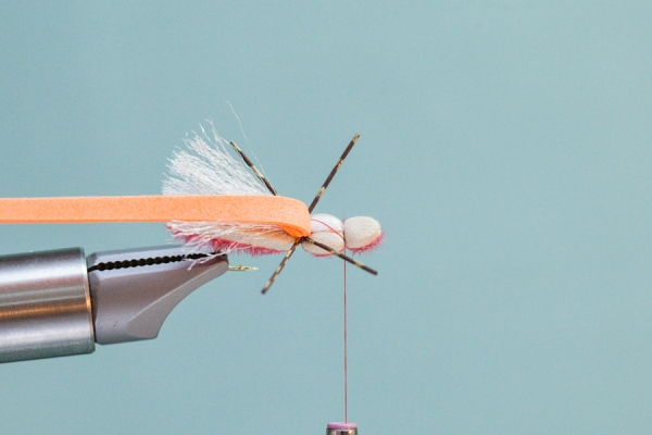 Tying Slim Jim hopper