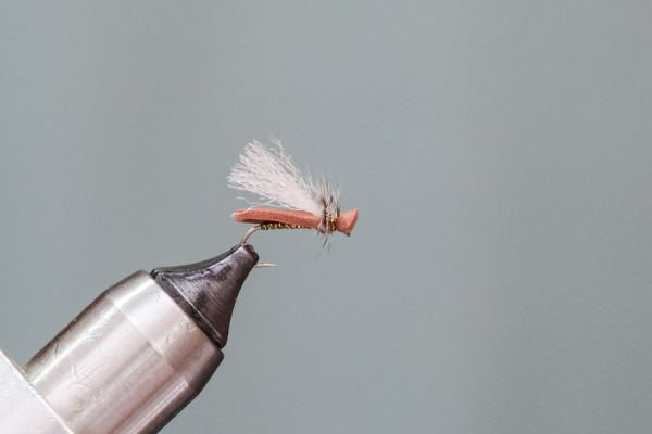 Finished Simple Foam Caddis Fly